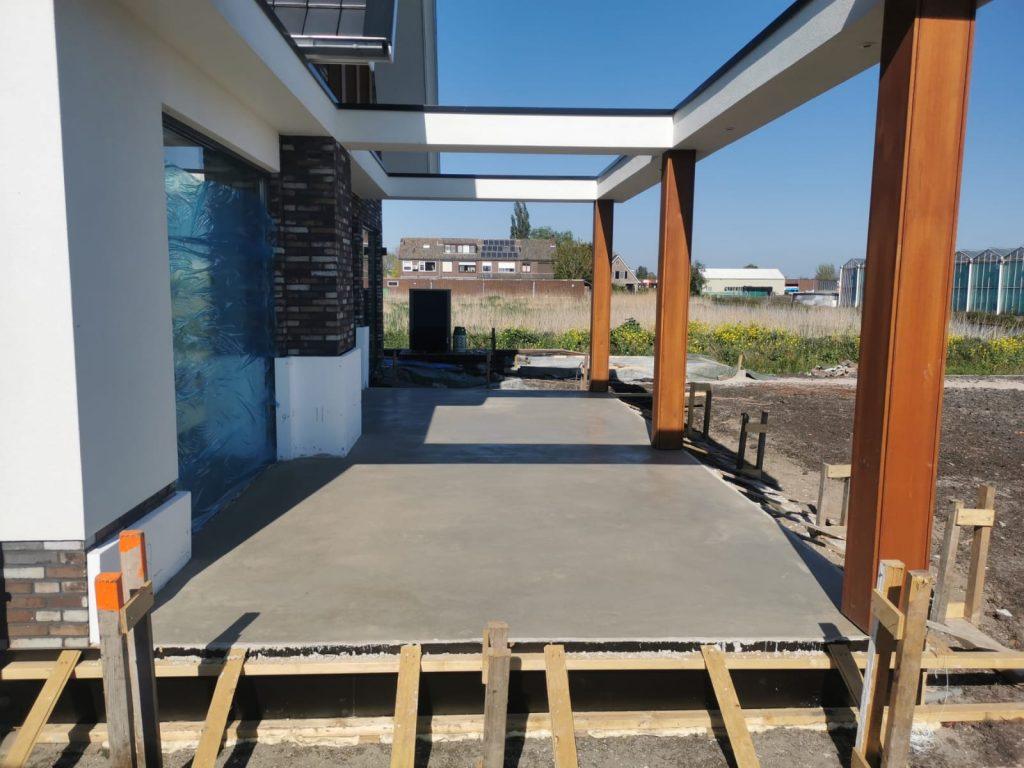 beton terras prijs m2